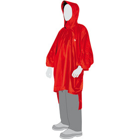 Tatonka Poncho 2 M-L, red